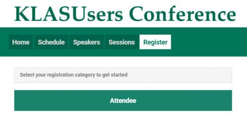 2021 KLAS Users' Conference Registration - How to sign up!